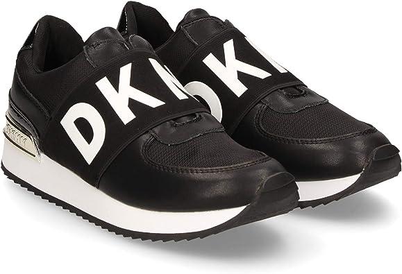 DKNY Marlie Trainers Black 4 UK: Amazon