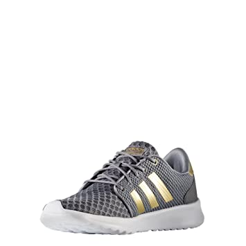 adidas cloudfoam qt racer trainers ladies ice purple