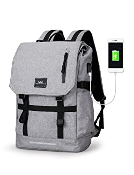 Mark Ryden® Mochilas Portatil Multifuncional Ordenador Portátil Resistente al Agua con Puerto de Carga USB