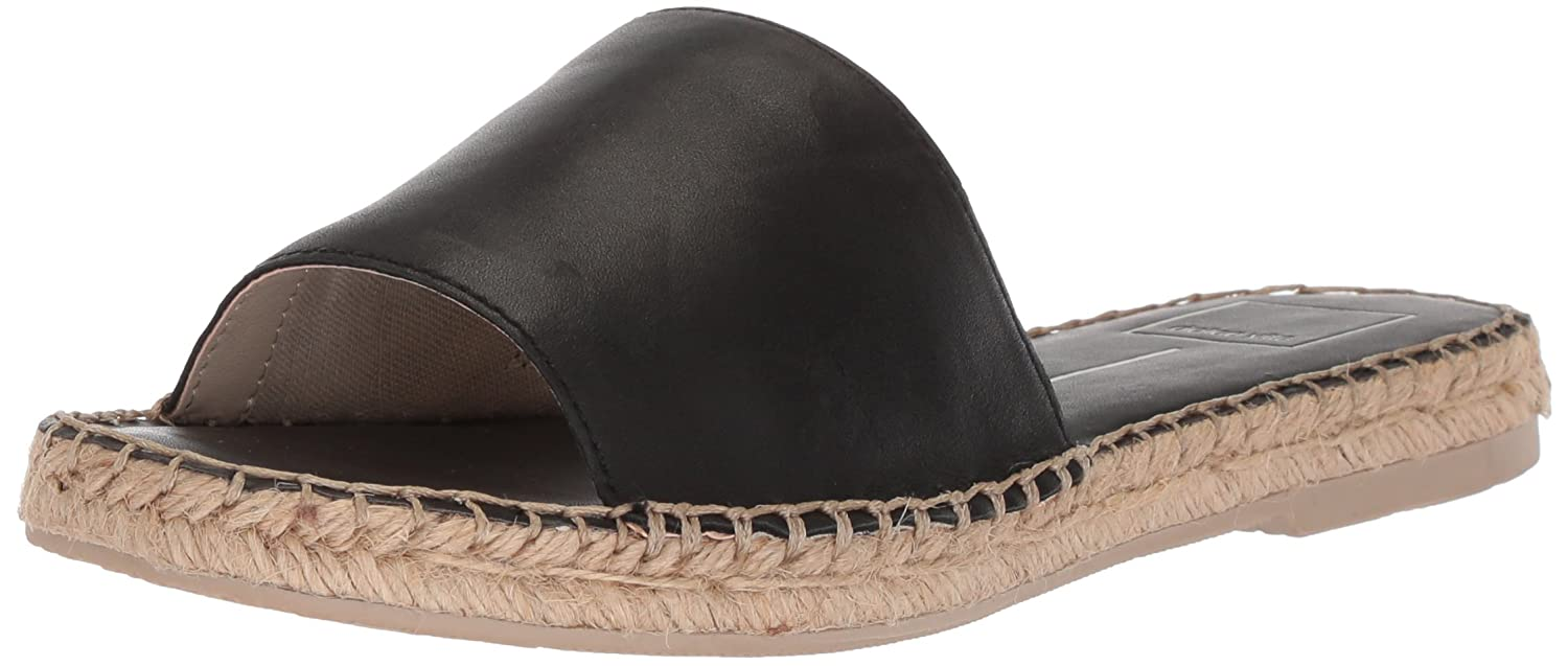 Dolce Vita Women's Bobbi Slide Sandal B0784HG68P 9 B(M) US|Black Leather