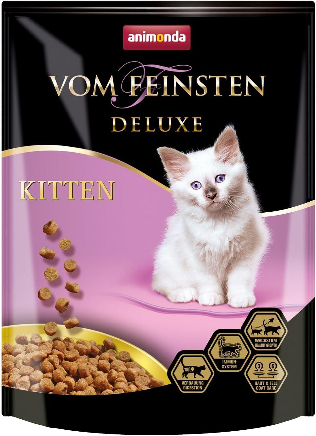 Animonda Vom Feinsten Deluxe - Pienso seco para Gatos, Varios ...