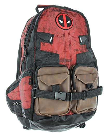 67259cea1cc8 Amazon.com  Marvel Deadpool Laptop Backpack  Computers   Accessories
