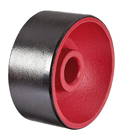 Vigor ruedas fijas de par para hidráulico de aluminio – Gato hidráulico de carretilla (v2480