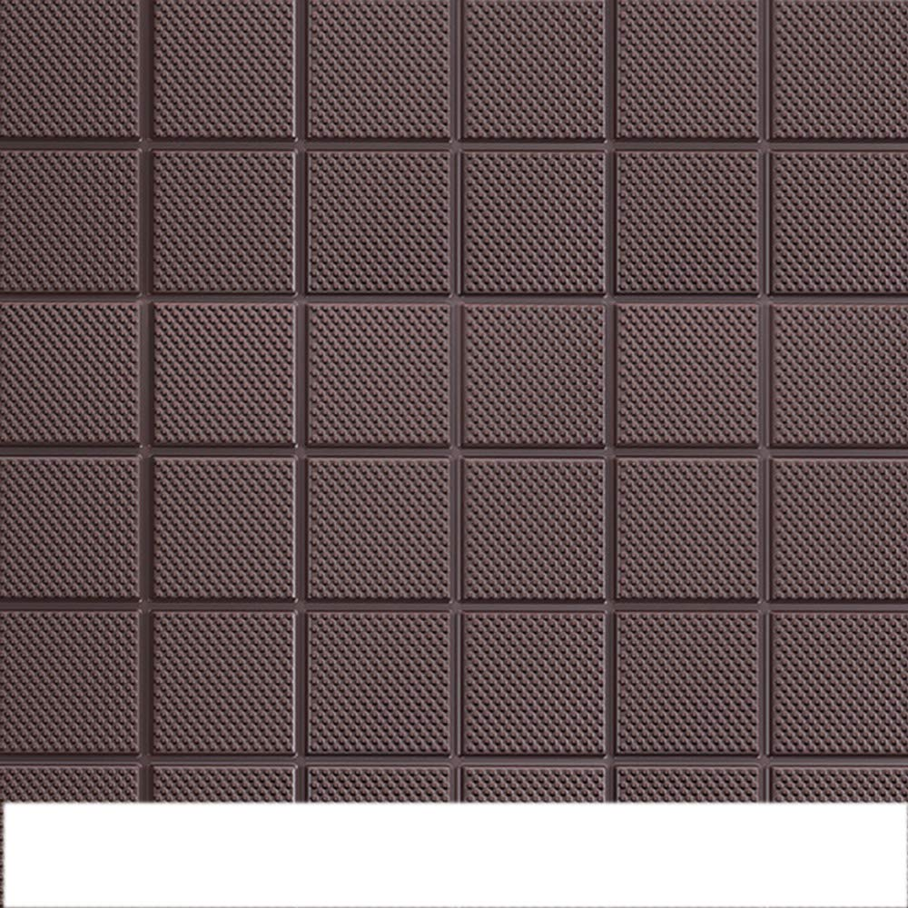 YETUGE-X 壁紙シール クッション 緩衝シート モザイクタイル 3D立体壁紙 DIY  60x60CM  厚さ8mm ウォールステッカー 軽量レンガシール  壁紙シール 自己粘着 防水 B07JL7J42C 二十枚|2 2 二十枚
