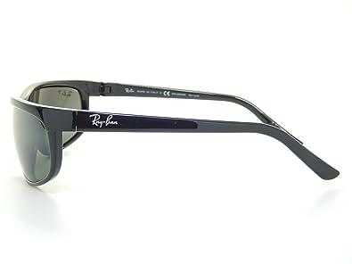 c5ef4ebb67 Amazon.com  New Ray Ban Polarized Predator 2 RB2027 601 W1 Black Gray  Polarized 62mm Sunglasses  Shoes