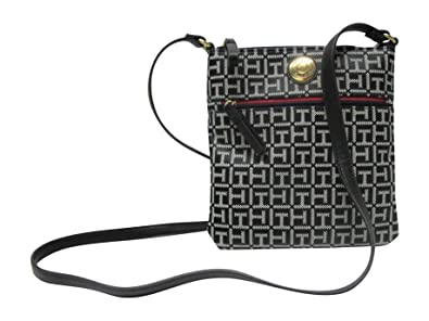 dfbeaf6d TOMMY HILFIGER WOMAN'S BLACK CROSS-BODY BAG: Amazon.co.uk: Shoes & Bags