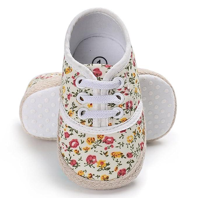 Soupliebe Recién Nacido Zapatos Primeros Pasos Bebe Niña Forma de ...