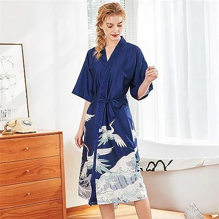 BABIFIS Donne Abiti da Sposa Sexy Robe Lady Pizzo Kimono