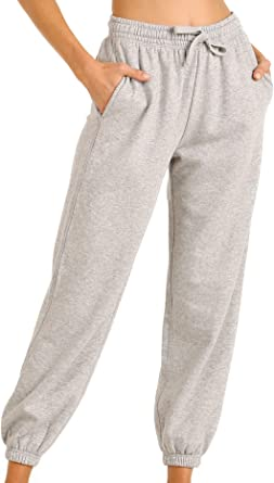 heymoney Men Drawstring Harem Pants Drawstring Sweatpants with Pockets
