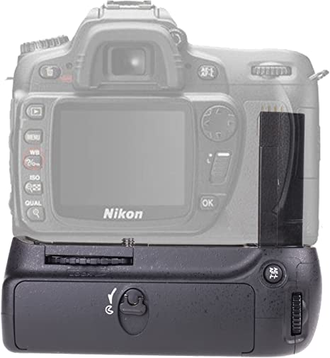 Empuñadura para Nikon D80 D90, Yeeteem BG-2C empuñadura de batería ...