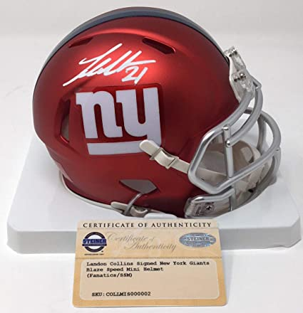 eb141a0a Amazon.com: Landon Collins Autographed Signed Memorabilia New York ...