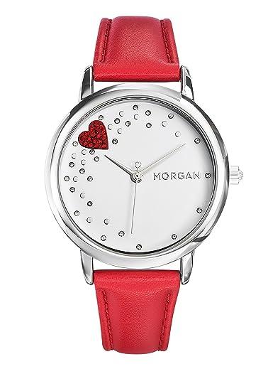 quality design 5bfd1 2caef Morgan - Orologio da polso, Donna, Analogico, cinturino in ...