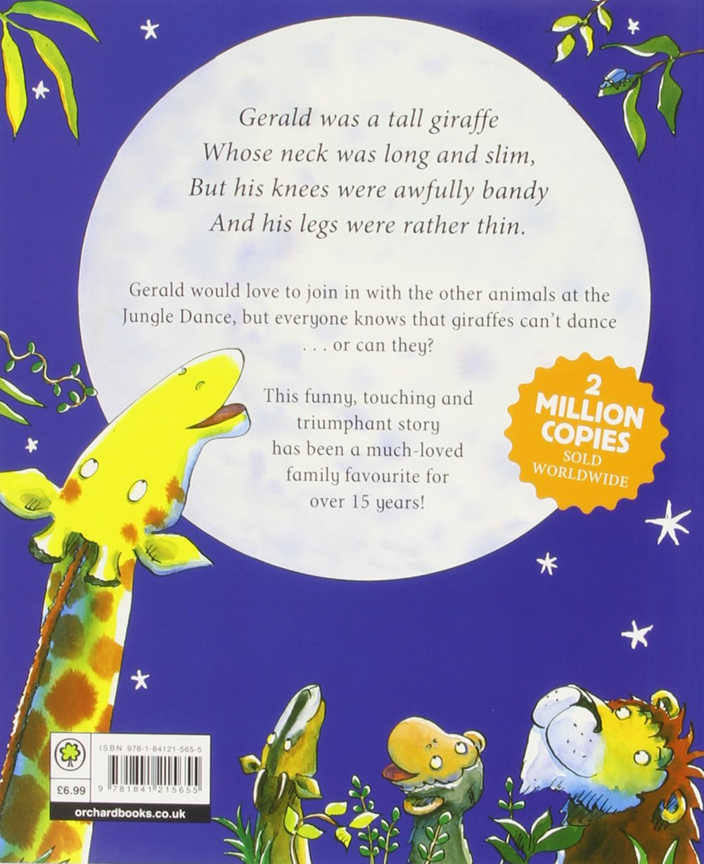 Giraffes Can't Dance: Giles Andreae, Guy Parker-Rees: 9781841215655: Amazon.com:  Books