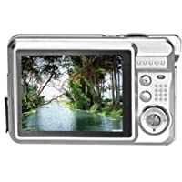 Tonsee 2.7 inch TFT LCD HD 720p 18MP Digital Camcorder Camera 8x Digital Zoom With UK Plug (Silver)