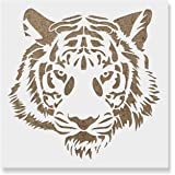 photo about Tiger Stripe Stencil Printable identify : Tiger Stripes Stencil for Partitions and Crafts