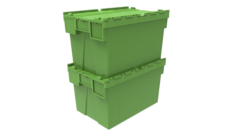 azul dise/ño de tapa con tapa caja 10 x en color caja de pl/ástico incluidas 65 litros rojo azul o verde caja de pl/ástico envase fealdad intarsia con xolair adjunto