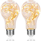 LED Decorative Bulbs, DORESshop 2W Fairy Light Filaments Bulbs, 15W Equivalent Starry Lights for Pendant Light Fixtures…