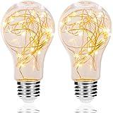 LED Decorative Bulbs, DORESshop 2W Fairy Light Filaments Bulbs, 15W Equivalent Starry Lights for Pendant Light Fixtures, Bedr