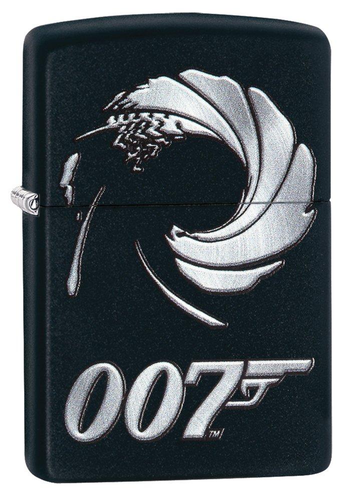 Zippo James Bond 007 Black Matte Lighter