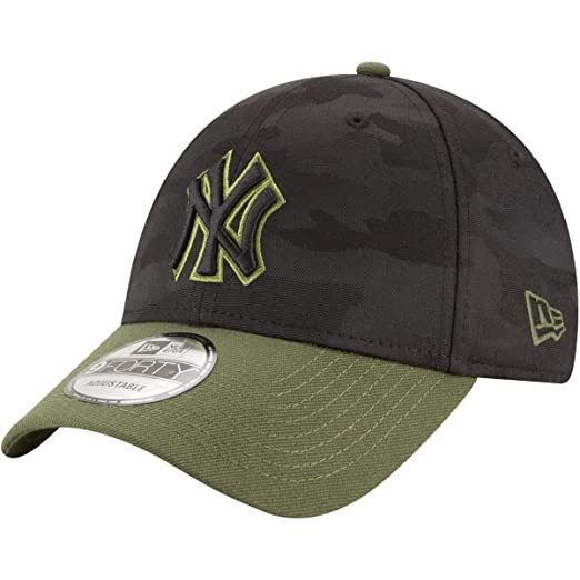 Image Unavailable. Image not available for. Color  New Era New York Yankees  2018 Memorial Day 9FORTY Adjustable Hat b0ea399fb6ff