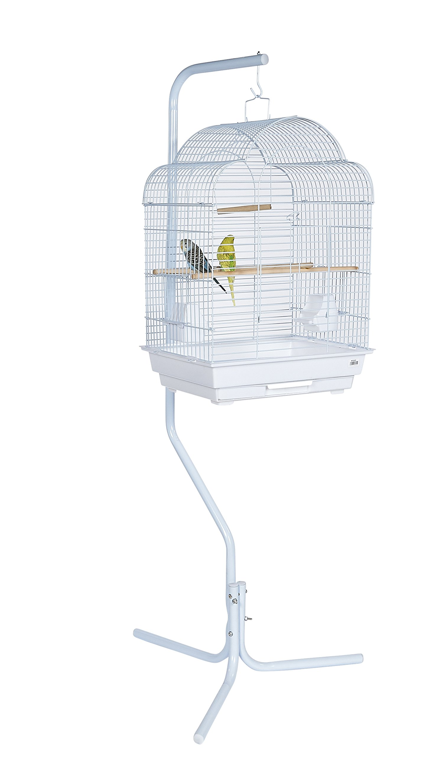 Pet Ting Natural Living Swinging Trapeze With Bell 15 X 12 Centimetre Birds Finch Canary Budgie