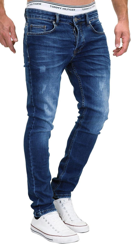 Merish Jeans - Pantalones vaqueros ajustados para hombre