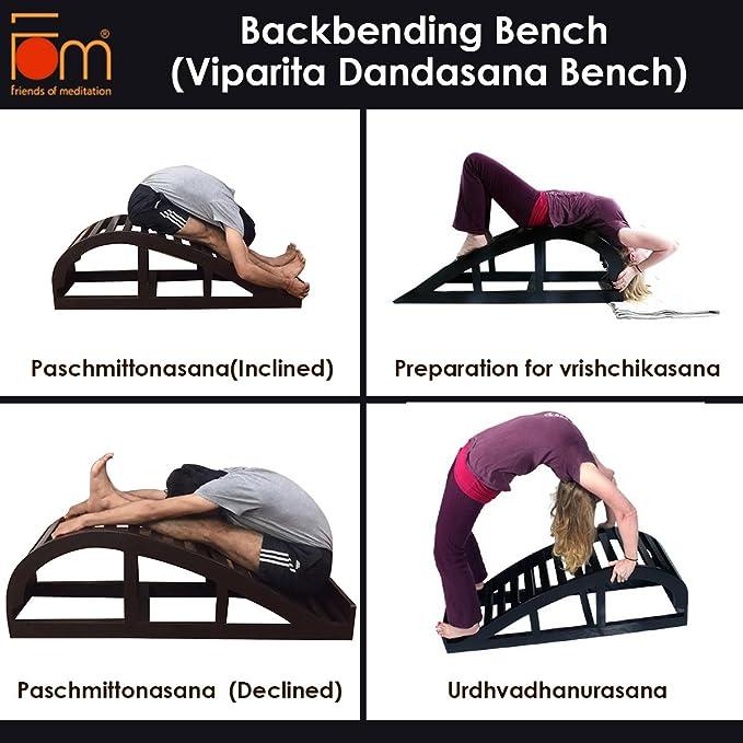 Amazon.com: Amigos de meditación Iyengar yoga Back plegado ...