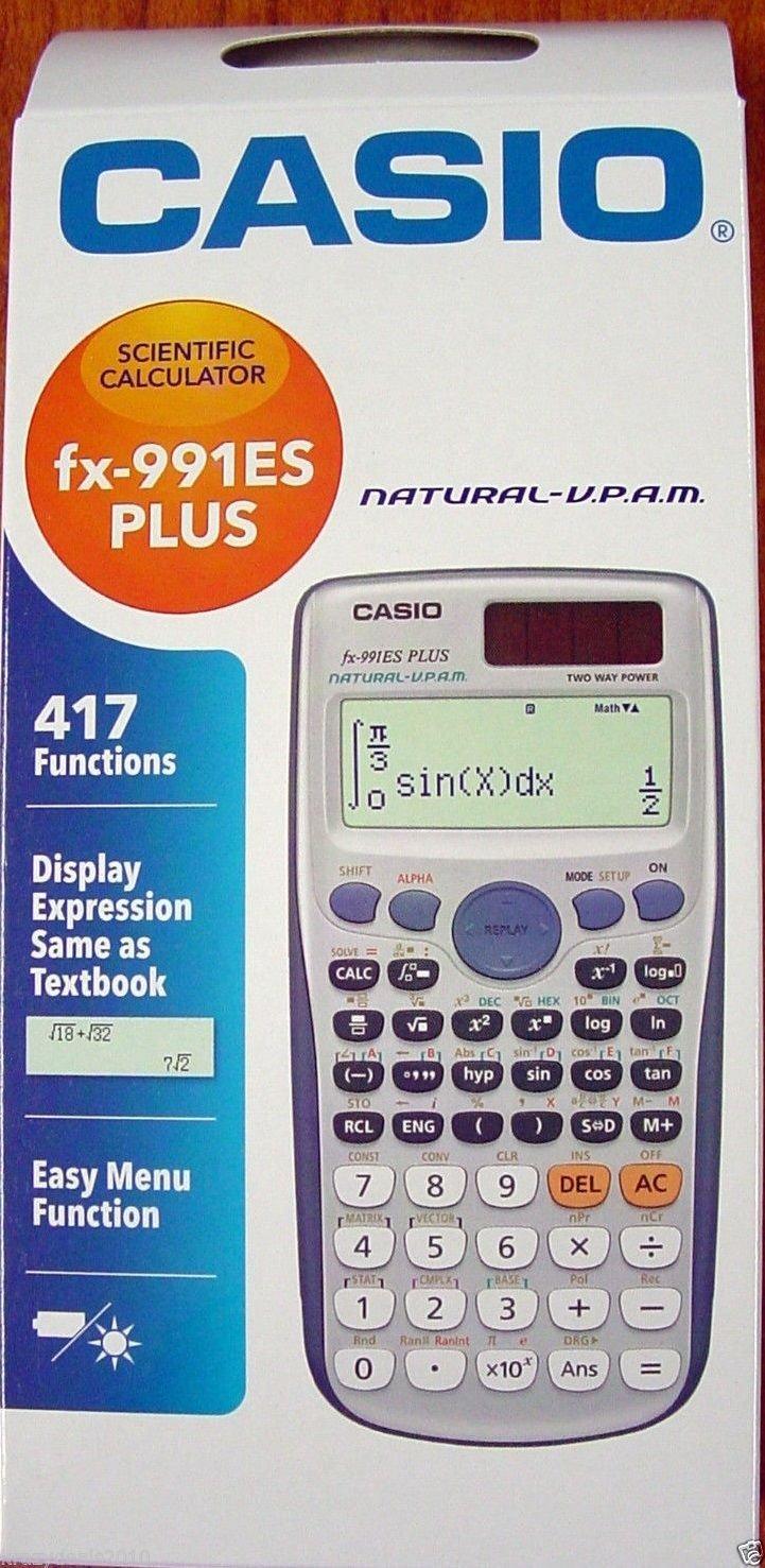 Casio fx-991es plus manual standard deviation