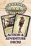 Studio 2 Publishing Savage Worlds RPG, Action and Adventure Decks