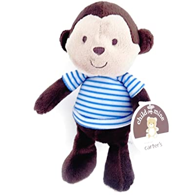 Child of mine By Carter's Baby Plush Monkey : Baby Touch And Feel Toys : Baby