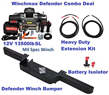 winchmax land rover defender winch winch bumper wiring kit rh amazon co uk Wiring- Diagram Wiring- Diagram