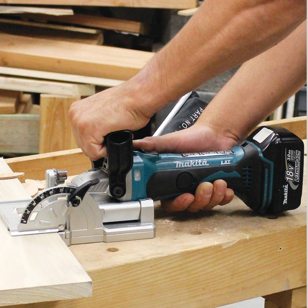 Makita XJP03Z 18V LXT Lithium-Ion Cordless Plate Joiner by Makita (Image #3)