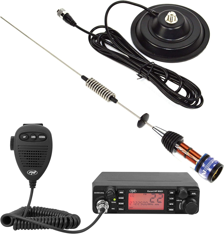 Paquete Radio CB PNI Escort HP 9001 ASQ + Antena CB PNI ...