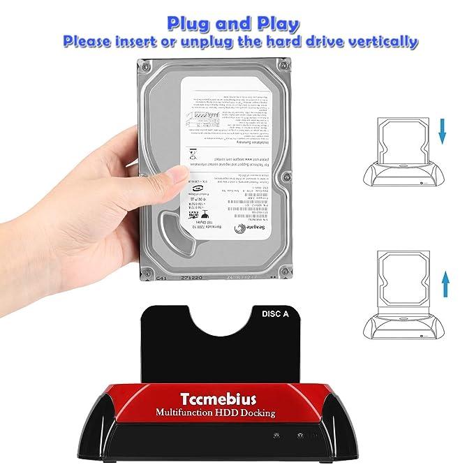 Estación de Acoplamiento de Disco Duro, Tccmebius TCC-S868-US USB ...