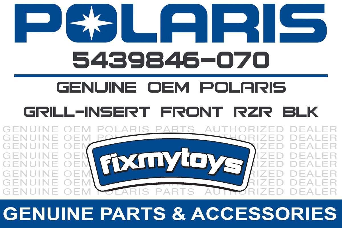 OEM RZR Front Grill Insert 2012-2015 Polaris RZR 4 570 800 S 5439846-070 by Polaris (Image #3)