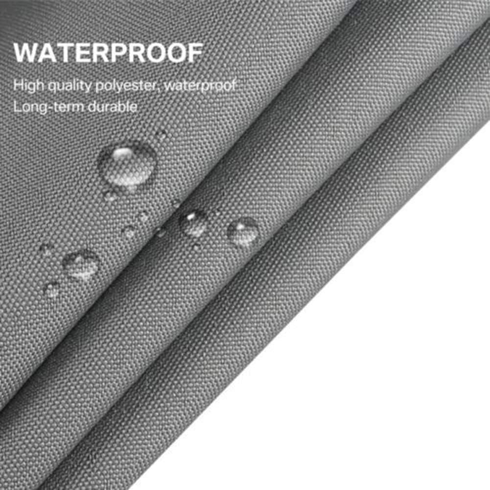 LYZL Tenda a Vela Parasole, 2×2×2m Triangolare Tenda a Vela per Giardino Terrazzo Balcone, 95% Protezione Raggi UV Vela Tenda, con Kit di Fissaggio,Burgundy Light Gray