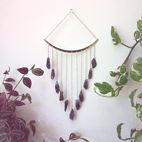 Amethyst Crystal Rain Catcher