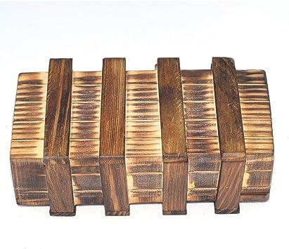Chonor Cubo Rompecabezas 3D de Madera del Enigma Juego Puzle #112 - Caja Mágica de Madera con