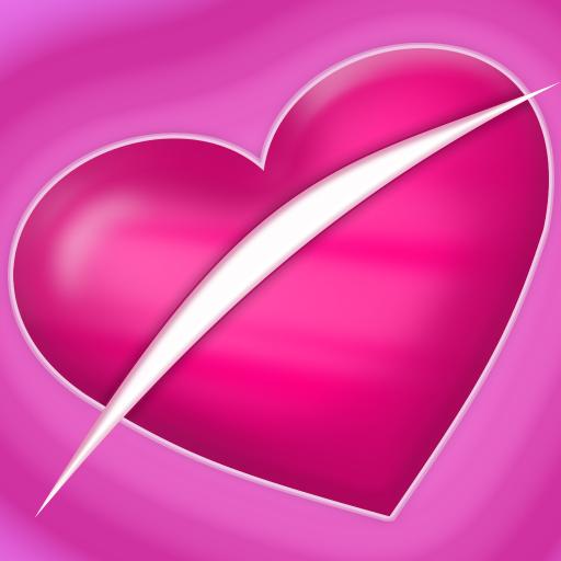 Slice Love : Valentine Hearts - Ab Rose Heart