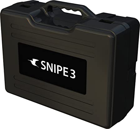 Selfsat Snipe V3 Twin - Antena parabólica automática, Color Blanco
