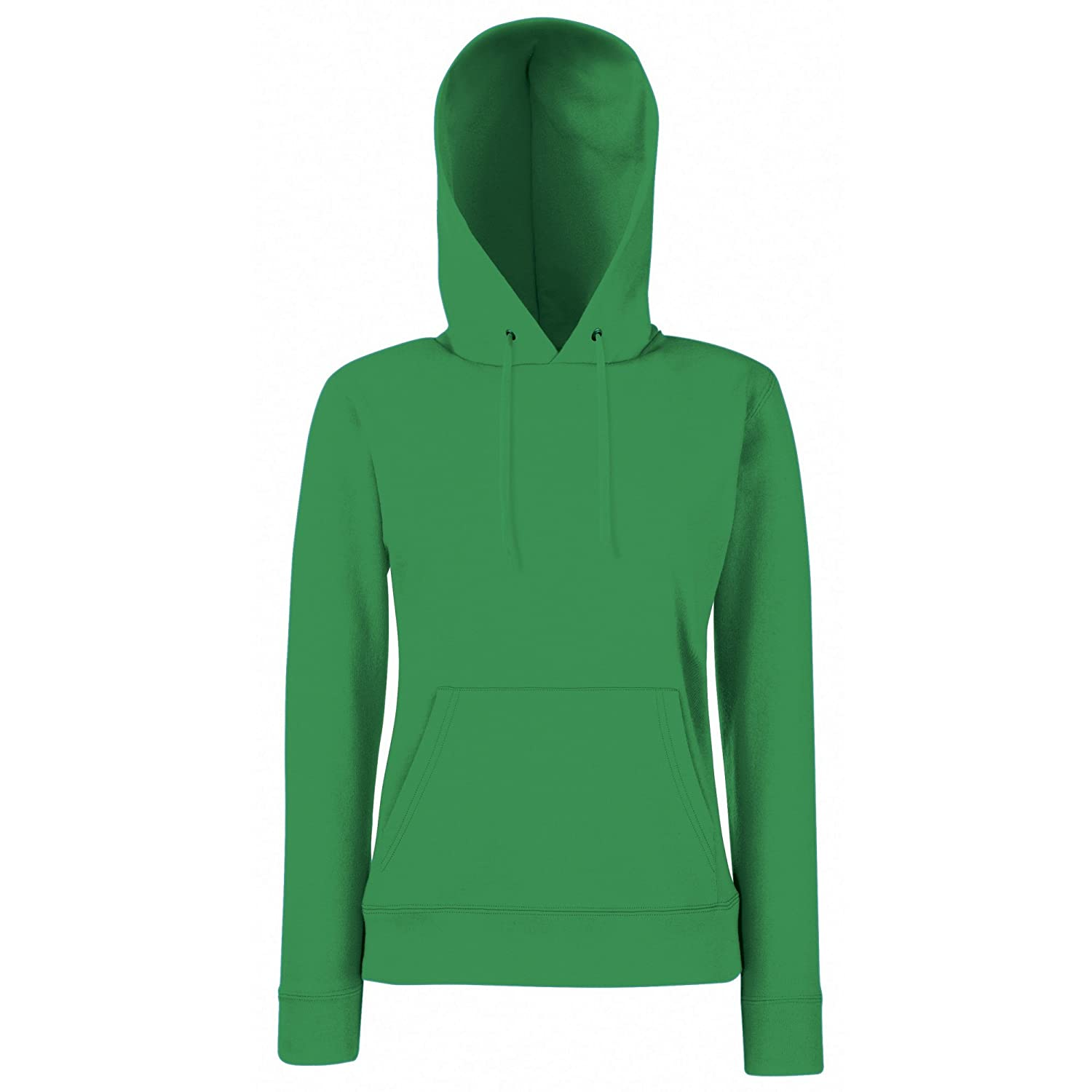 Fruit of the Loom Ladies Lady Fit Hooded Sweatshirt/Hoodie