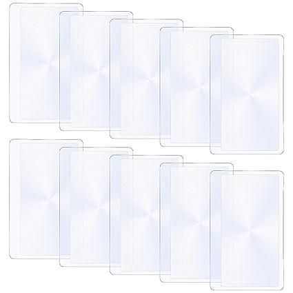 BronaGrand - Lupa de plástico con lupa de tamaño de tarjeta ...