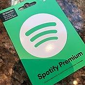 Amazon.com: Spotify: Tarjetas de regalo