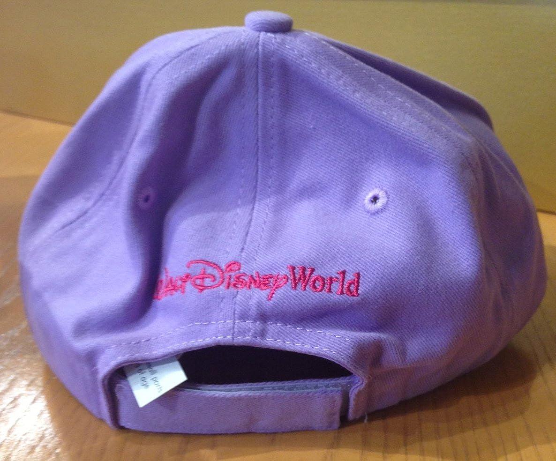 Disney Parks Princess Embellished Lavender Child Size Baseball Hat Cap NEW