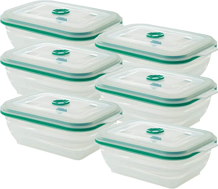 Top 10 3Pack Silicone Food Container Collapsible