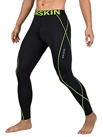 7ed93e23bce55 DRSKIN Compression Cool Dry Sports Tights Pants Baselayer Running Leggings  Yoga Rashguard Men - -: Amazon.co.uk: Clothing
