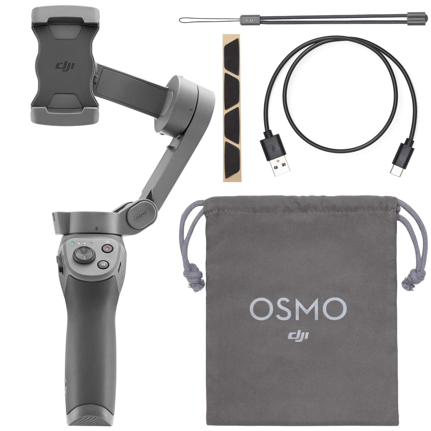 DJI Osmo Mobile 3 Handheld Smartphone Foldable Gimbal - CP.OS.00000022.01 by DJI