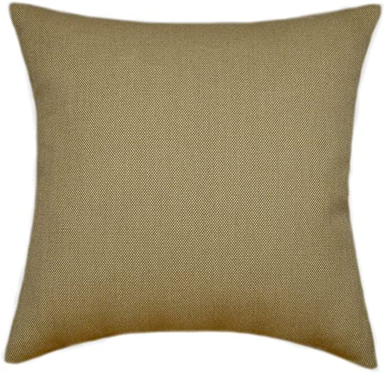 TPO Design Sunbrella Sailcloth Sisal Indoor Outdoor Patio Pillow 18×18