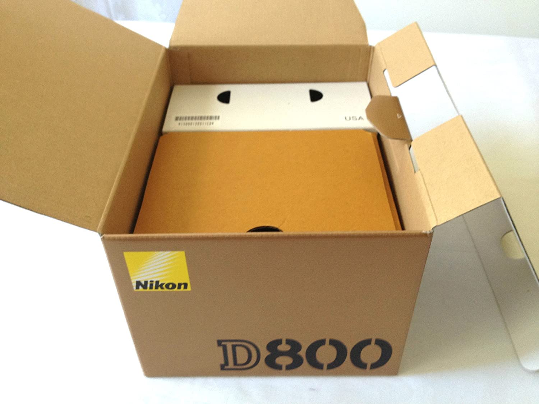 Caja vacía sólo: Nikon D800 Cuerpo sólo Caja: Amazon.es: Electrónica