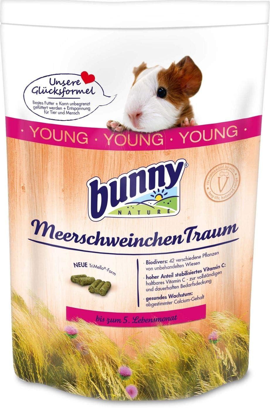 Bunny Nature – Conejo de Indias Traum Young – 750 g